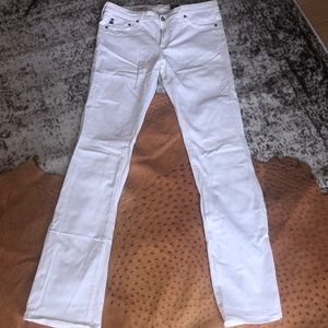 Adriano Goldschmied AG white jeans